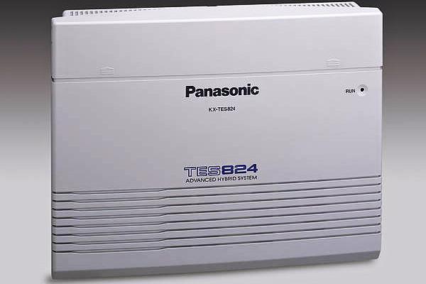 Tổng đài điện thoại Panasonic KX-TES824 – 3 vào 8 máy lẻ
