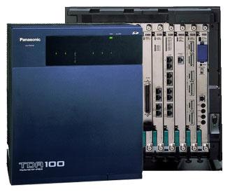 Tổng đài điện thoại Panasonic KX-TDA100D – 8 vào 88 máy lẻ